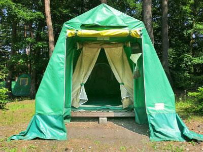 テント 二重構造